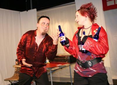 Foto zur Meldung: Alkoholhölle - Ein Theaterstück zum Thema Alkohol im Haus am Anger