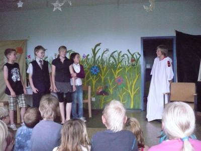 Foto zur Meldung: Theater mit Gruseleffekt