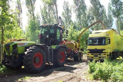 Foto zur Meldung: Restholzverwertung zur Wärmegewinnung