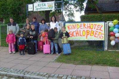 """Ein Hotel für Kinder- demografisches Best-Practice-Projekt im Juli ist das """"Kinderhotel Schlossberg"""""""