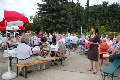Foto zu Meldung: Sommerfest im AWO – Seniorenheim Calau
