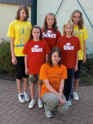 Foto zur Meldung: Starke Mädchen laufen in Laage