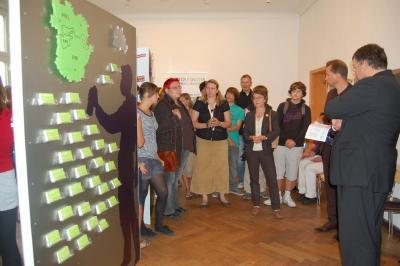 Foto zur Meldung: Ausstellung Tolerantes Brandenburg im Haus am Anger