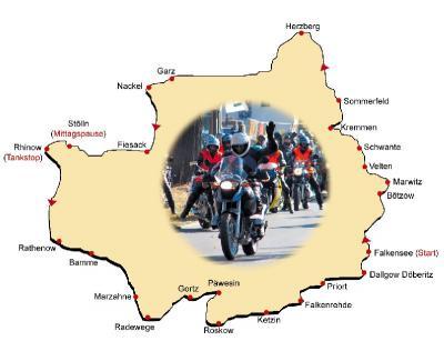 Foto zur Meldung: Bürgermeister-Motorradtour startet am Sonntag - Offene Crea-Werkstätten im Haus am Anger ab 10 Uhr