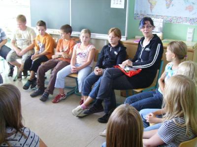 Foto zur Meldung: Schülerreporter berichten