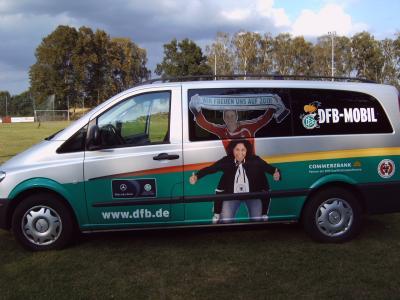 Foto zur Meldung: DFB - Mobil in Meyenburg