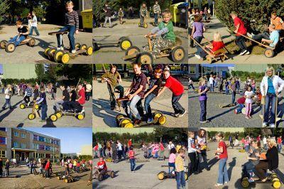 Foto zur Meldung: Bewegte Schule