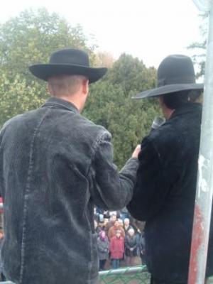 Foto zur Meldung: Richtfest am Oberlaubenstall in Borgisdorf