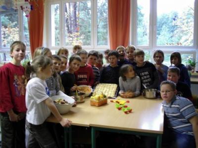 Foto zur Meldung: Projekttag der Klasse 4