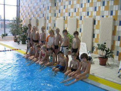 Foto zur Meldung: Schwimmlehrgang Klasse 3