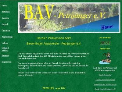 Foto zur Meldung: Herzlich Willkommen beim Biesenthaler Anglerverein - Petrijünger e.V.