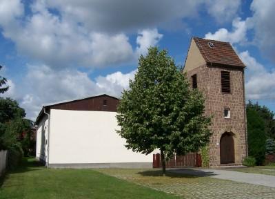 Foto zu Meldung: Lautsprecheranlage und Spielmöglichkeit im Gemeindezentrum Merzdorf