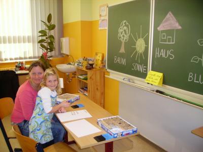 Foto zur Meldung: Schnuppertag in der Grundschule Vier Jahreszeiten Egeln