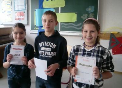 Foto zur Meldung: Vorleser beeindruckten ihre Zuhörer