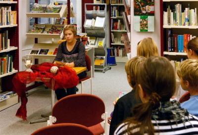 Foto zur Meldung: Spannender Vorlesewettbewerb in Calau - jetzt mit Foto-Galerie