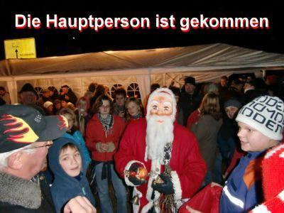 Foto zu Meldung: Koßdorfer Feuerwehr hatte zum Weihnachtsmarkt geladen
