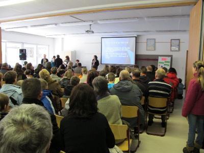 Foto zur Meldung: Viele Gäste in der Kantschule  - Tag der offenen Tür am 13. Februar