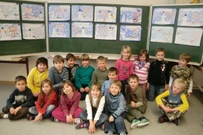 Foto zur Meldung: Projekttag: Methodentraining in der Grundschule Gröden