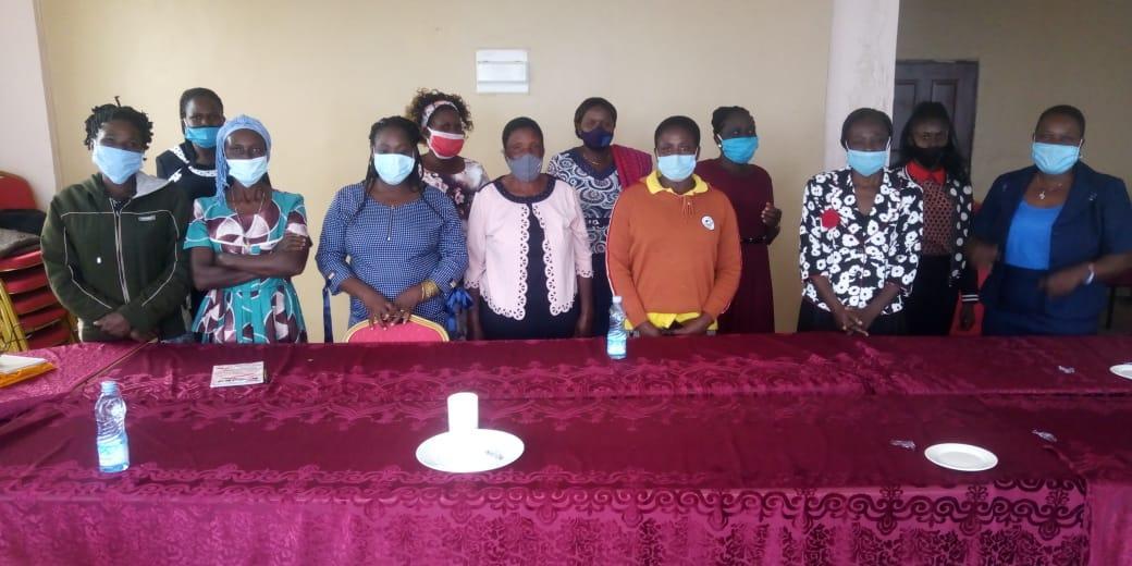 Die Teilnehmerinnen aus Bungoma