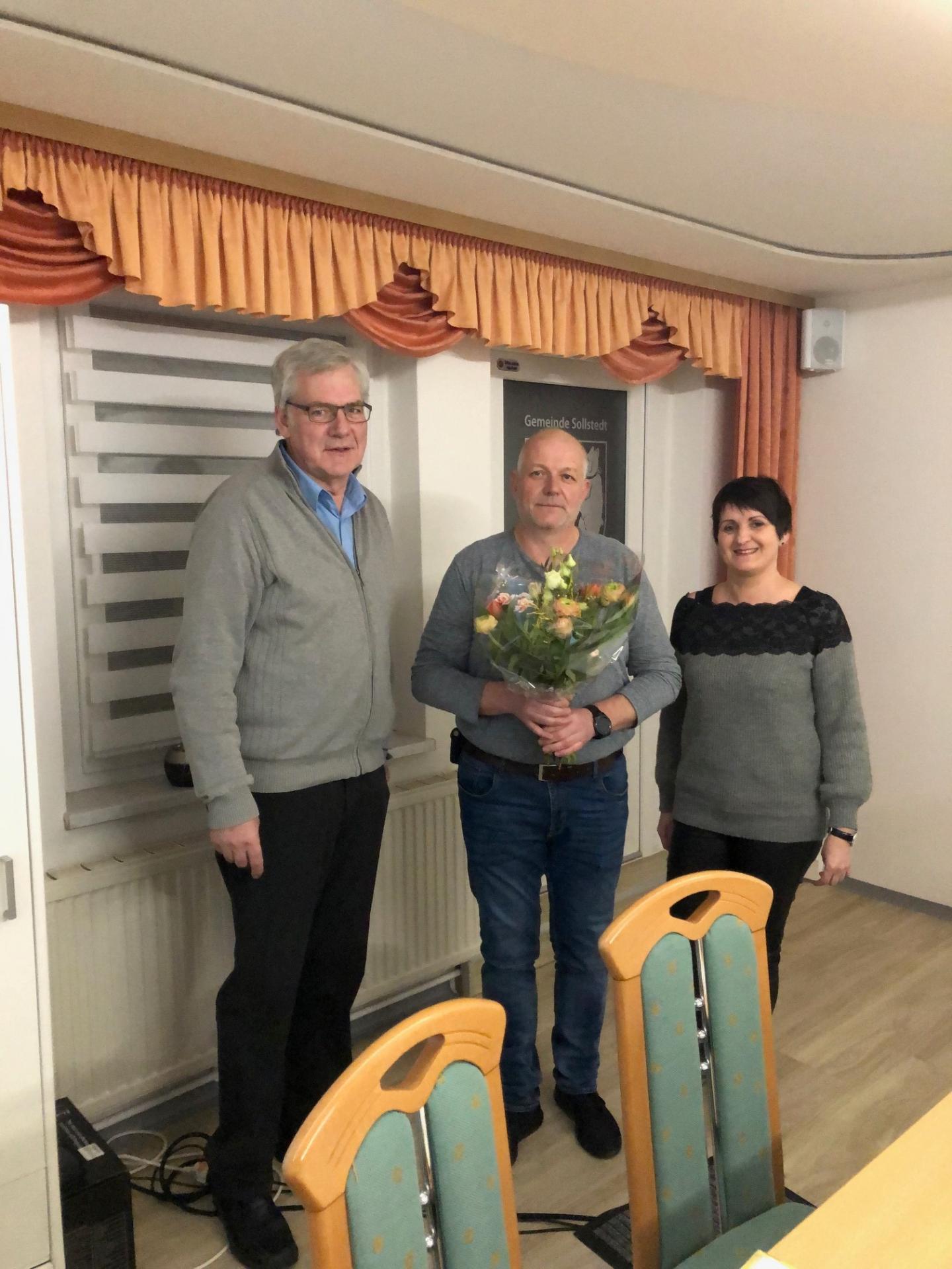 Nachrücker im Gemeinderat Sollstedt