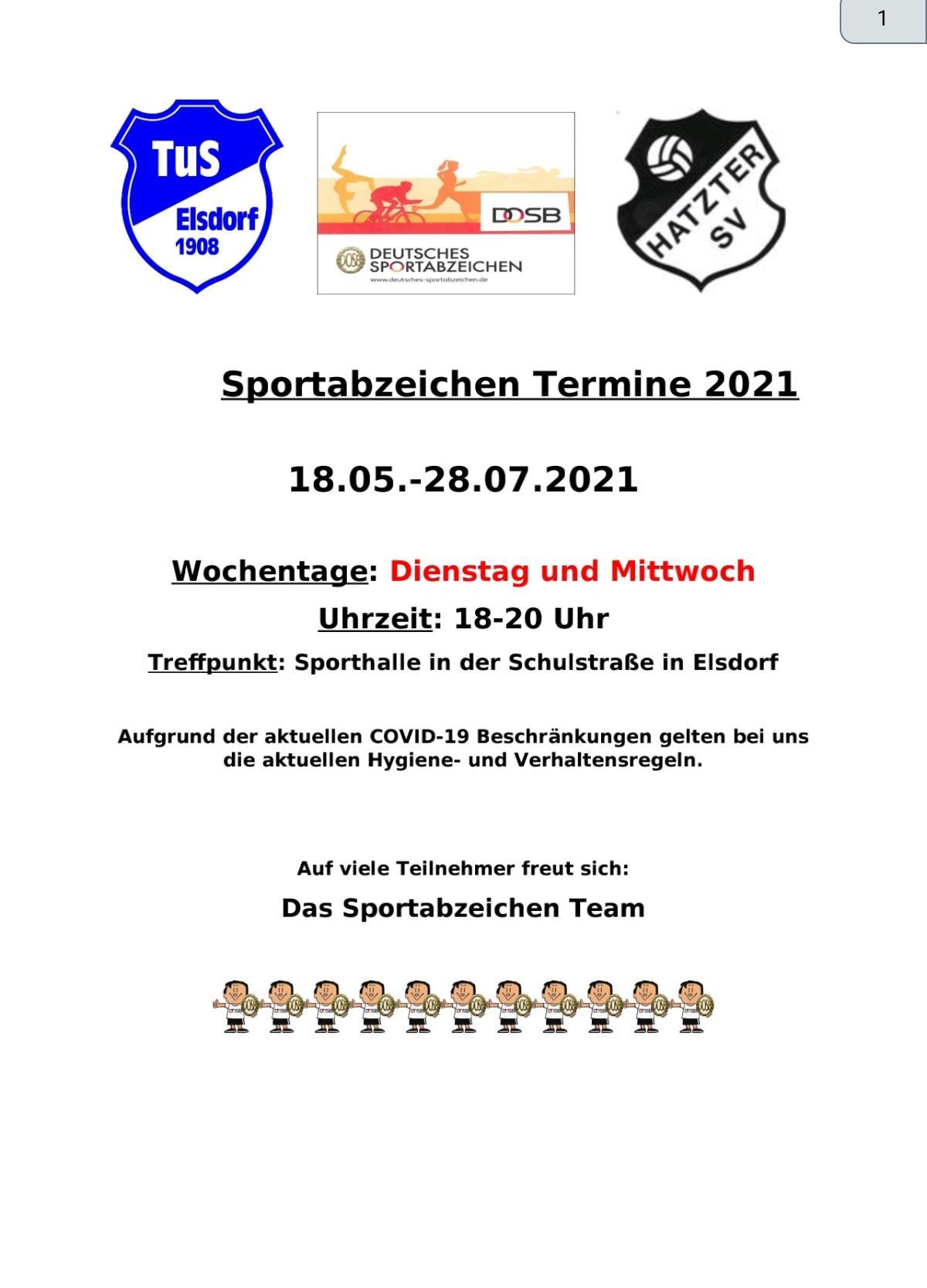 infos Sportabzeichen
