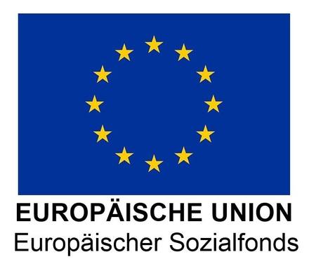 Projekt gefördert durch den Europäischen Sozialfond