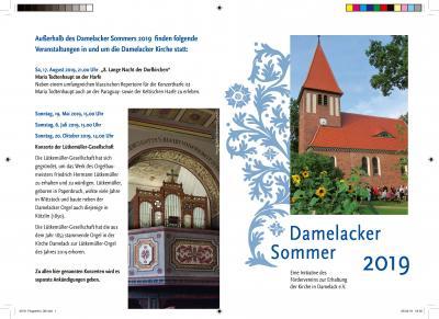 Vorschaubild zur Meldung: Damelacker Sommer 2019