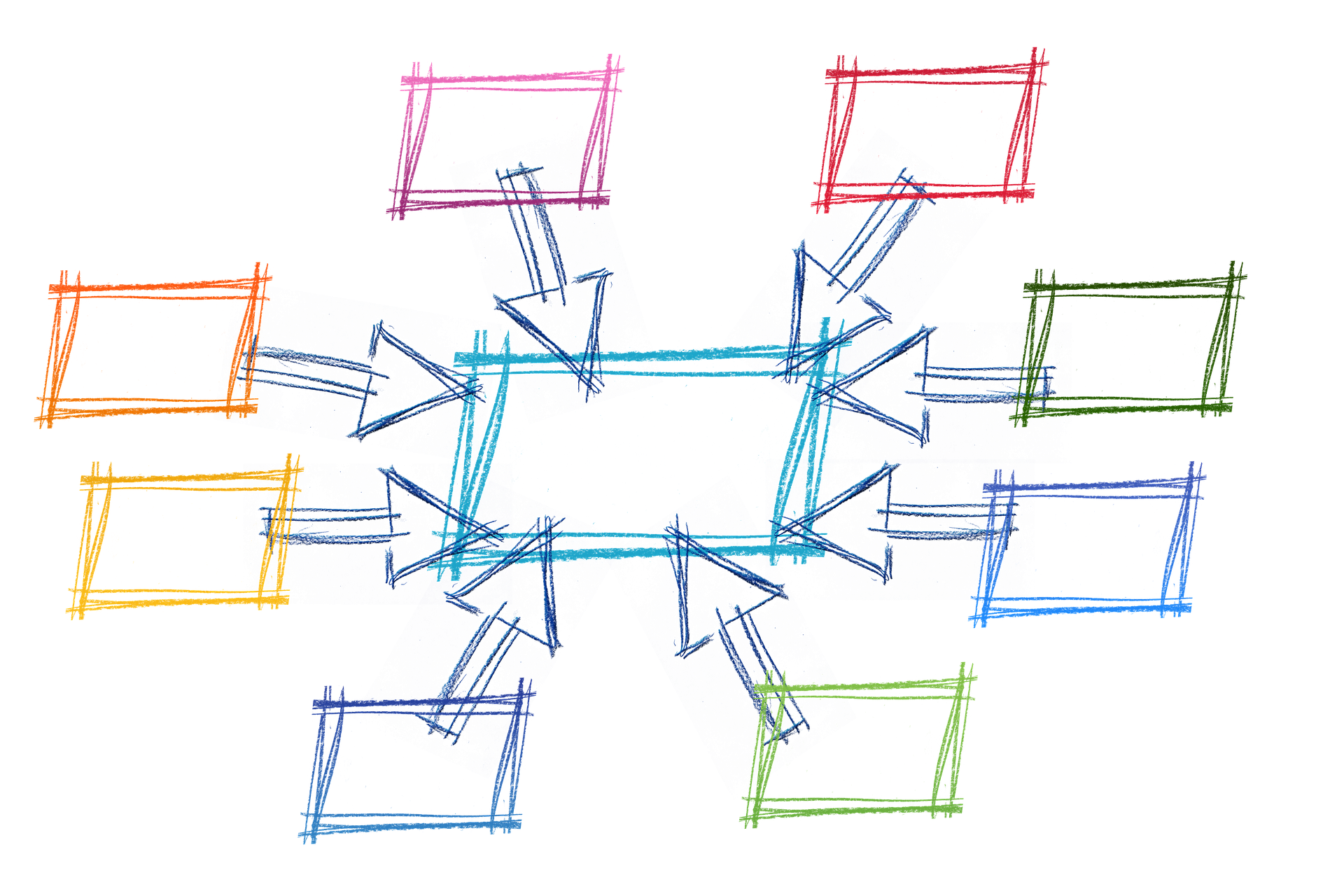 Symbolbild Vernetzung