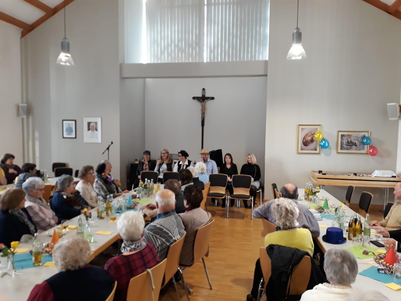 Seniorenfasching Miltach 2020 1