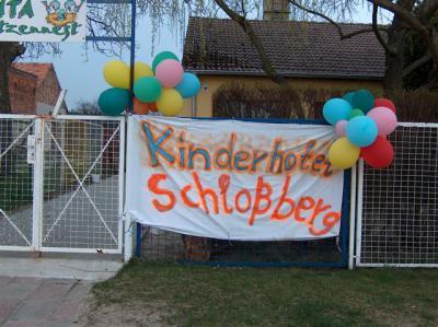 """Sechs Jahre Kinderhotel """" Schlossberg"""" in der Kita Groß Ziescht"""