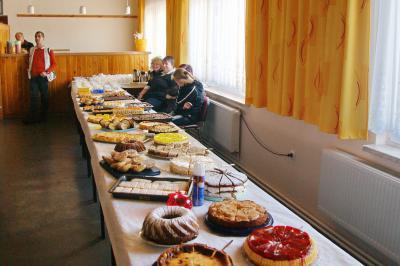 Kuchenbuffet zum Stiftungstag