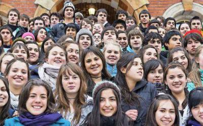 Foto zur Meldung: Chilenische Schüler besuchen Calau