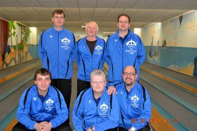 Foto zur Meldung: Erster Turniersieg der Laager Kegler in der Bezirksliga West