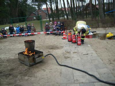Foto zur Meldung: Bei der Feuerwehr wird der Kaffee kalt!