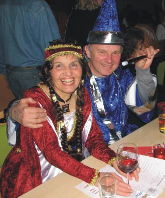"""Foto zur Meldung: """"Blau und weiß ist unsere Faschingsgarnitur"""" – der Karneval in Günthersdorf!"""
