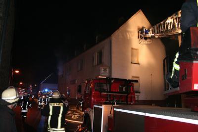 Foto zur Meldung: 75 Feuerwehrleute bei Alarmübung im Einsatz