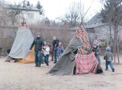"""Bild der Meldung: Projekt """"Cowboy & Indianer"""" im Hort"""
