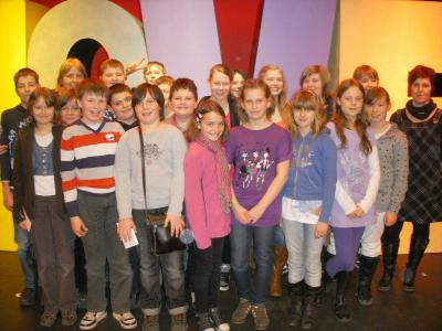 Foto zur Meldung: Ein Besuch im ATZE Musiktheater
