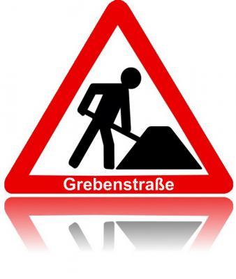 Foto zur Meldung: Grebenstraße vor dem Ausbau