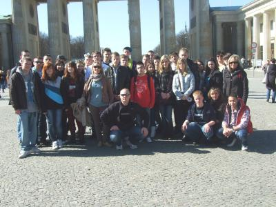 Foto zur Meldung: Deutsch-Polnische Schülerbegegnung der Grund- und Oberschule Schenkenland