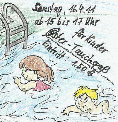 Oster - Tauchspaß im Lehrschwimmbecken Doberlug