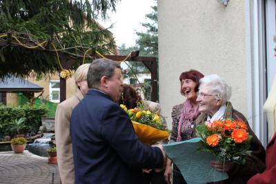 Bild der Meldung: Margarete Voigt feierte 100. Geburtstag