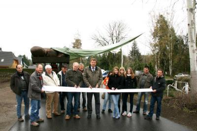 """Foto zur Meldung: """"Siedlung Ost"""" in Stolzenhagen mit neu ausgebauten Straßen"""