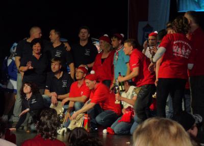 Foto zur Meldung: Männerballett erkämpft Vizemeister-Titel