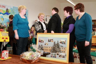 Foto zur Meldung: Feierliche Verabschiedung unserer Schulleiterin Frau Heger