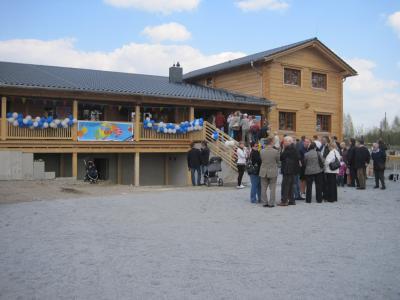 Bild der Meldung: Schwimmschule im Blockhaus