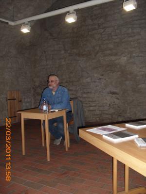 Foto zur Meldung: Buchlesung mit Bernd Kaufholz 6. April 2011