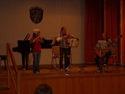 Foto zur Meldung: Benefizkonzert der Kreismusikschule in Brand