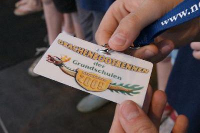 Foto zur Meldung: Zweiter beim Drachenbootrennen