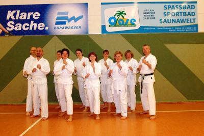 Foto zur Meldung: Karate & Selbstverteidigung ist beim SPORTCLUB LAAGE ein Renner